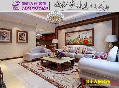 洛阳泉舜财富中心中式风格装修设计欣赏