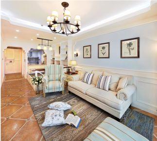 温暖如初美式风格两居室装修设计欣赏
