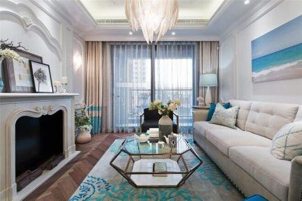 贵阳88平美式风情两居室装修设计欣赏