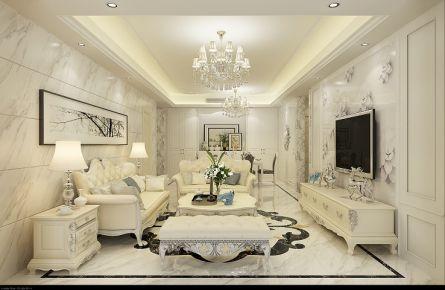 佛山千灯湖一号 三居室现代风格装修设计效果图