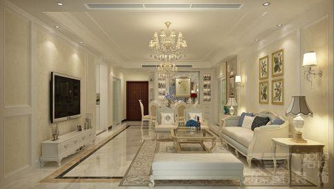 佛山保利东滨 三居室欧式风格装修设计效果图