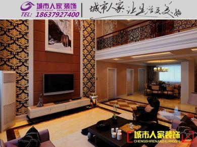 洛阳康城逸树现代简约风格家庭装修设计