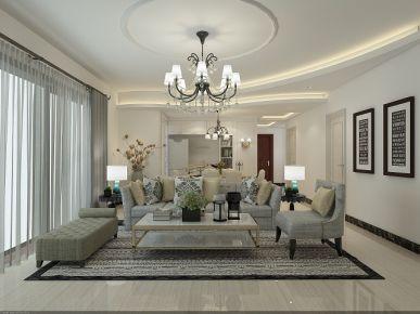 佛山中信金山湾 三居室简约风格装修设计效果图