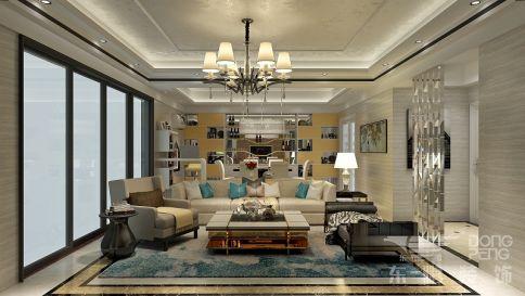 佛山沙面新城 三居室现代风格装修设计效果图