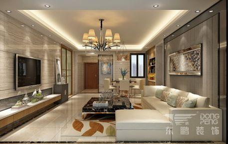 佛山东海银湾 四居室现代装修设计效果图