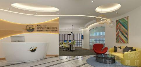 佛山万科金融中心办公室装修设计