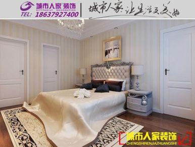 洛阳盛唐至尊简欧风格家庭装修设计效果图