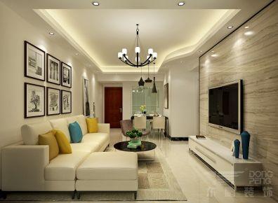 佛山星星凯旋国际 现代风格家庭装修设计效果图