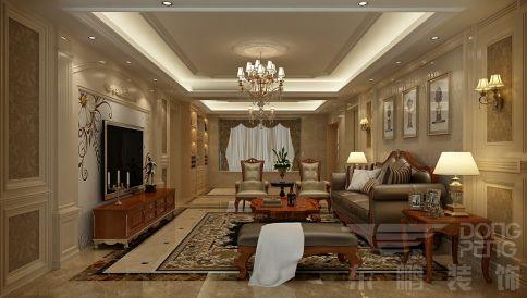 佛山中海寰宇天下 四居室欧式风格装修设计效果图