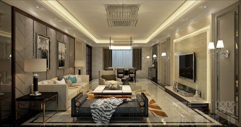 佛山中海寰宇天下 三居室现代风格装修设计
