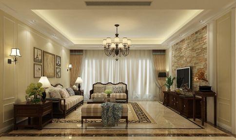 佛山中信山语湖 四居室现代风格装修设计