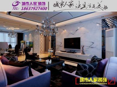 洛阳世纪华阳2期简约风格家庭装修设计