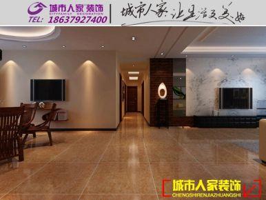 洛阳政和苑中式风格  四居室中式风格装修设计效果图
