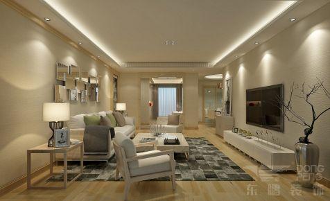 佛山中海万锦豪园 三居室简约装修设计效果图