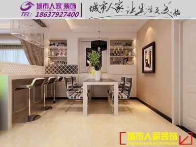 洛阳半岛明珠现代简约风格家庭装修设计