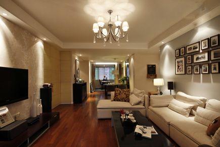 95平米简约明亮三居室装修效果图欣赏