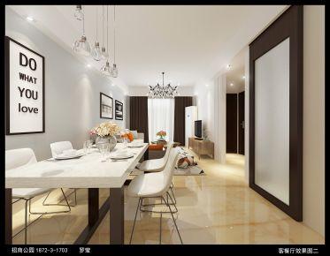 武汉招商公园 北欧风格家庭装修设计效果图