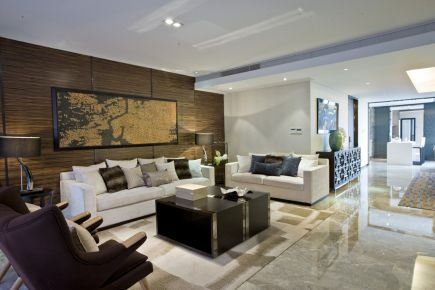 清新自然现代东南亚风三居室装修