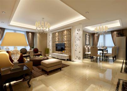 合肥现代简约风格三居室装修设计欣赏