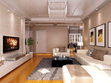 合肥现代简约风格家庭装修设计效果图