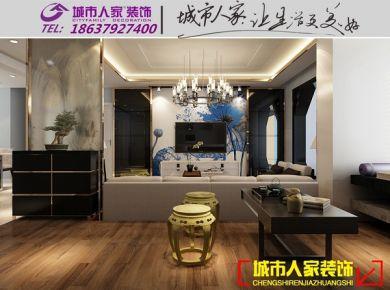 洛阳东方今典博雅苑新中式风格装修