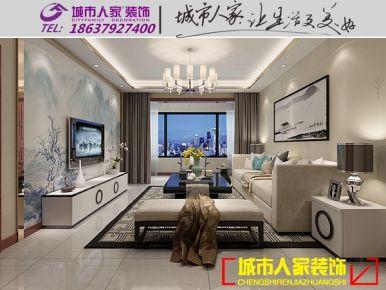 洛阳天城一品现代简约风格家庭装修设计