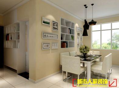 洛阳君河湾简约风格家庭装修设计效果图欣赏