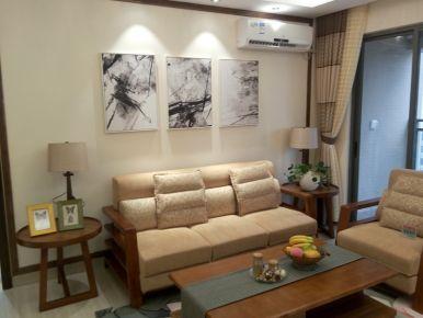 中山钰海绿洲样板房3-1905中式样板房装修