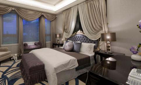 美轮美奂轻奢欧式风格二居室装修设计