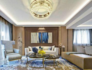 武汉惠康居小区 四居室现代风格装修设计