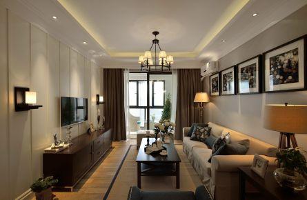 125平米打造优雅美式三居室