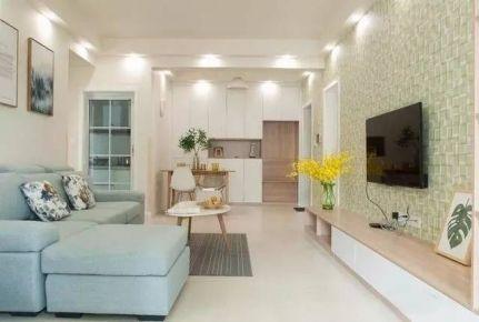 武汉武湖新天地北欧风格家庭装修设计欣赏