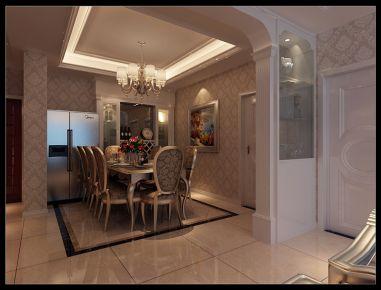 十堰四方新城 三居室欧式风格装修设计效果图