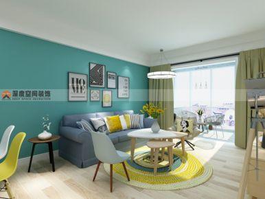 惠州新月家园 现代简约风格装修设计效果图赏析