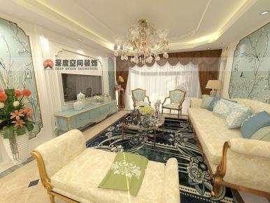 惠州富贵园 三居室现代风格装修效果赏析