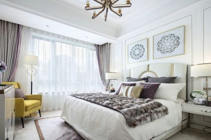 武汉保利清能西海岸二居室美式风格装修