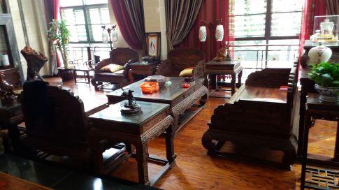 中山誉港湾中式风格别墅装修设计
