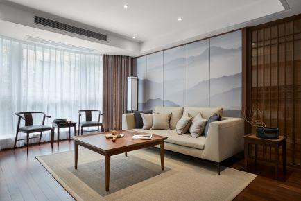武汉保利清能西海岸 四居室中式风格装修效果图