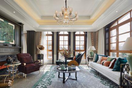武汉景绣龙城 三居室复古风家庭装修设计