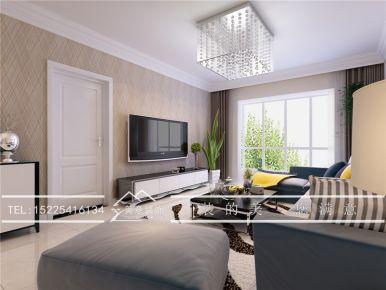 洛阳现代风格电视墙设计效果图