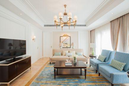 武汉保利清能西海岸 三居室现代风格装修设计