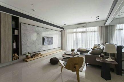 武汉和惠家园 新中式风格三居室装修设计