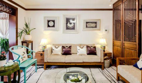 贵阳2室1厅120平米中式风格