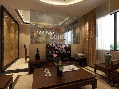 天津红星国际  新中式别墅装修设计效果图