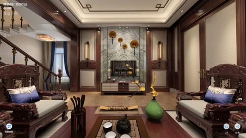 云水禅心中式别墅设计案例