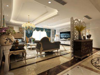 长沙奥莱名苑 四居室美式风格装修