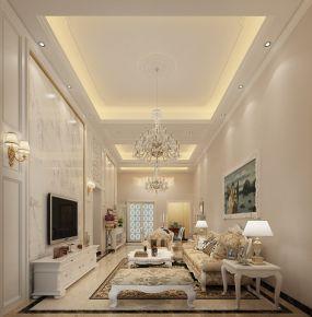 佛山中恒海晖城 三居室简约风格装修设计效果图