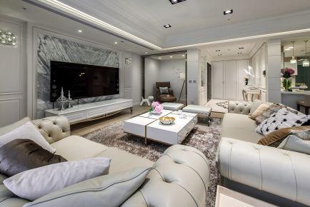 180平米欧式风格4室2厅装修效果图