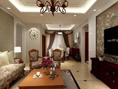 武汉东湖城3期东南亚风格家庭装修效果图欣赏
