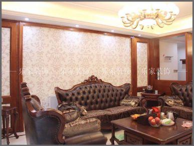长沙德润小区中式风格家庭装修